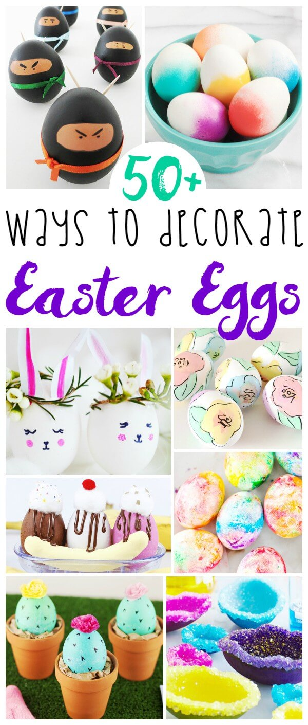 50 Ways To Decorate Easter Eggs Sugar Spice And Glitter