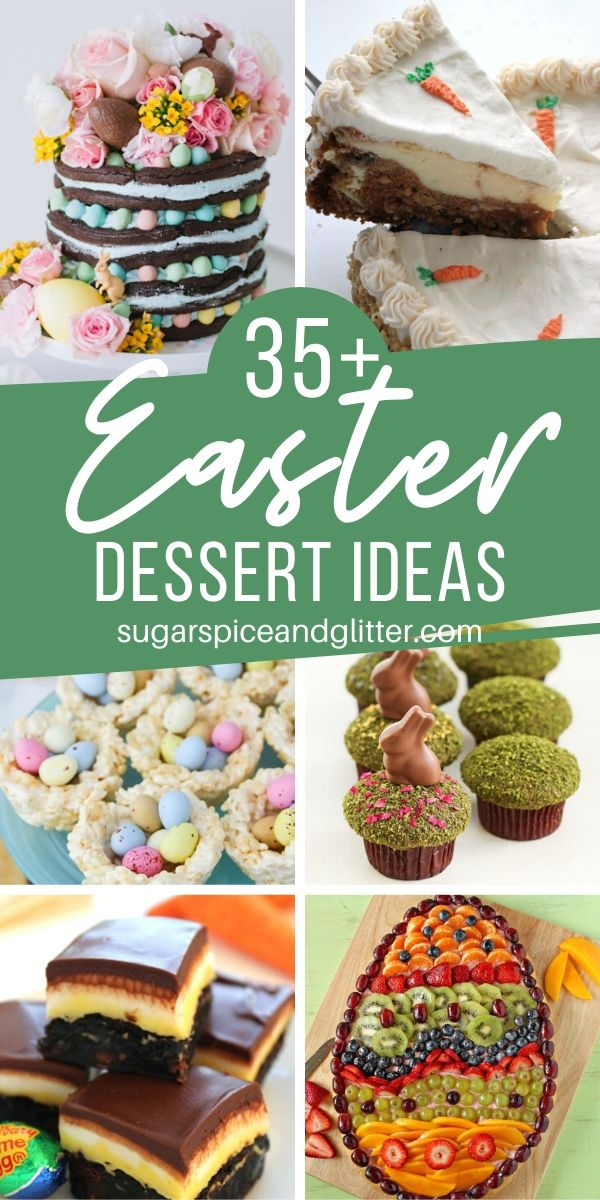 So many wonderful Easter Dessert ideas - from easy, no-bake Easter desserts to elegant, show-stopping cakes, and everything in between.