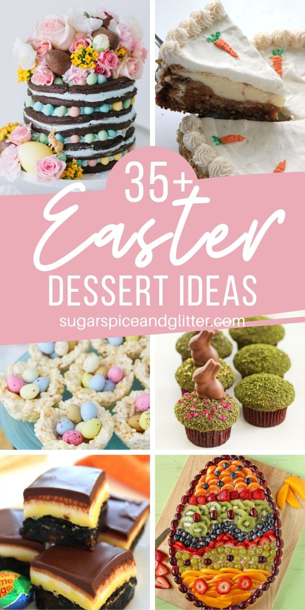 If you're looking for some serious inspiration for your own Easter Dessert recipe look no further than this completely drool-worthy collection of deliciously elegant Easter Desserts