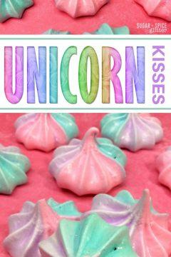 Unicorn Kiss Cookies