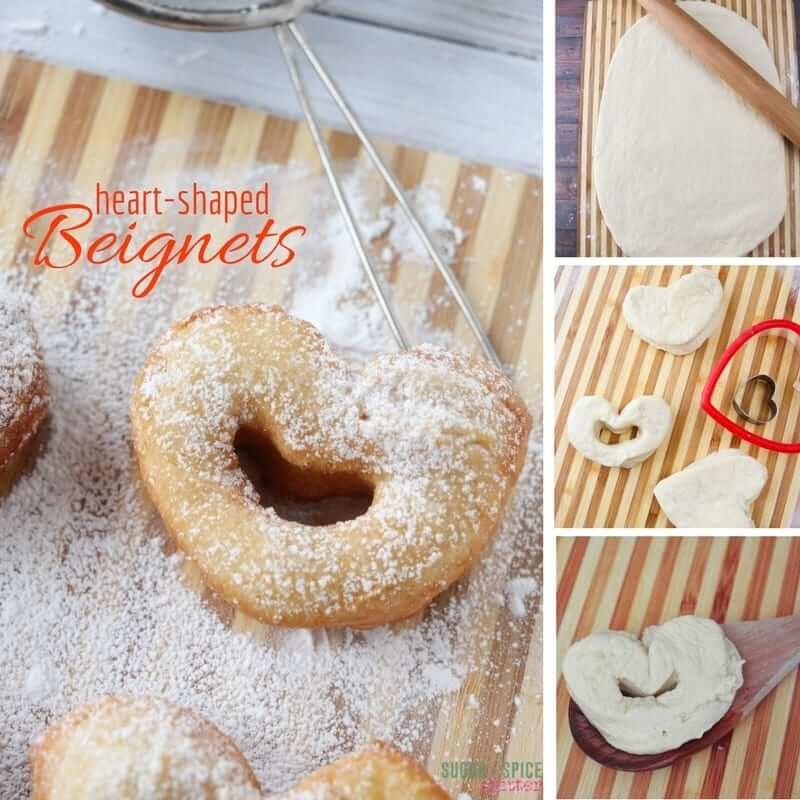 How to make heart-shaped beignet donuts