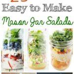 25+ Mason Jar Salads