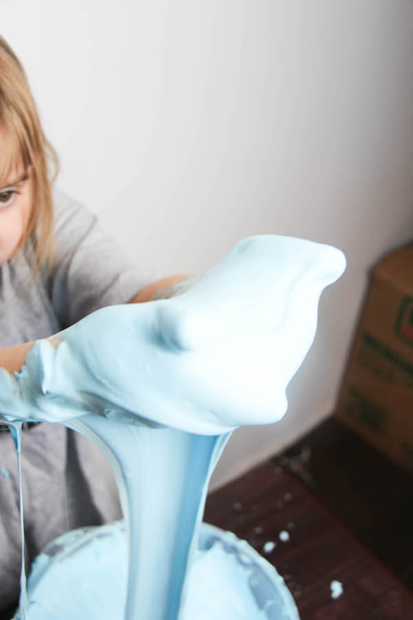 A simple slime recipe that needs just 3 ingredients - possibly some you already have on hand