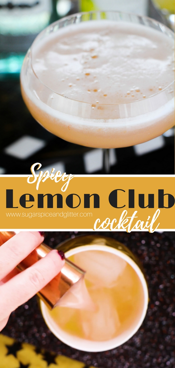 Our Lemon Club Cocktail recipe is inspired by a Prohibition classic - a lemon meringue pie cocktail with a bit of optional kick!