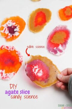 DIY Agate Candy Slices: Candy Science