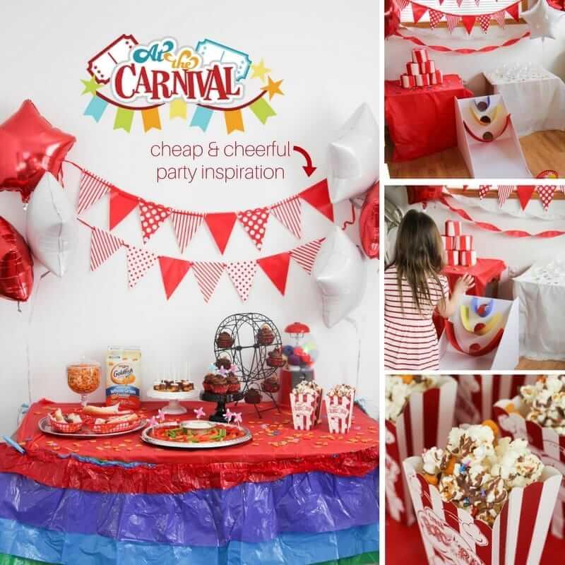 At the Carnival DIY Kids' Party ⋆ Sugar