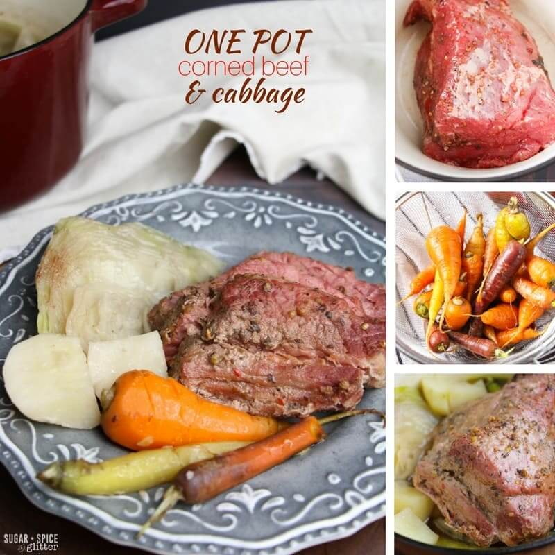 Irish Corned Beef and Cabbage