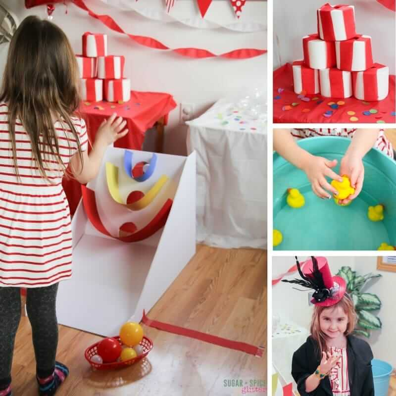 At The Carnival DIY Kids' Party ⋆ Sugar, Spice And Glitter