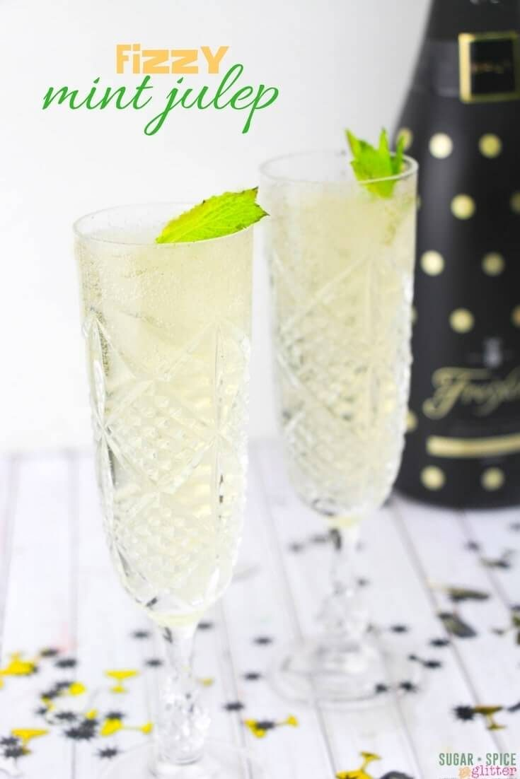 Champagne Julep Cocktail