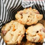 Salty-Sweet Pretzel Chocolate Chip Cookies