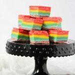 No-Cook Rainbow Fudge Recipe