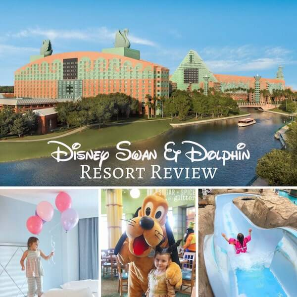 Walt Disney's Swan and Dolphin Resort - the good, the bad and the ugly. An honest review from a Disney family