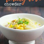 Crockpot Turkey Corn Chowder