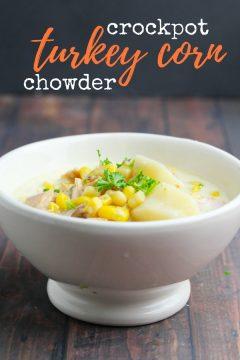 Crockpot Turkey Corn Chowder