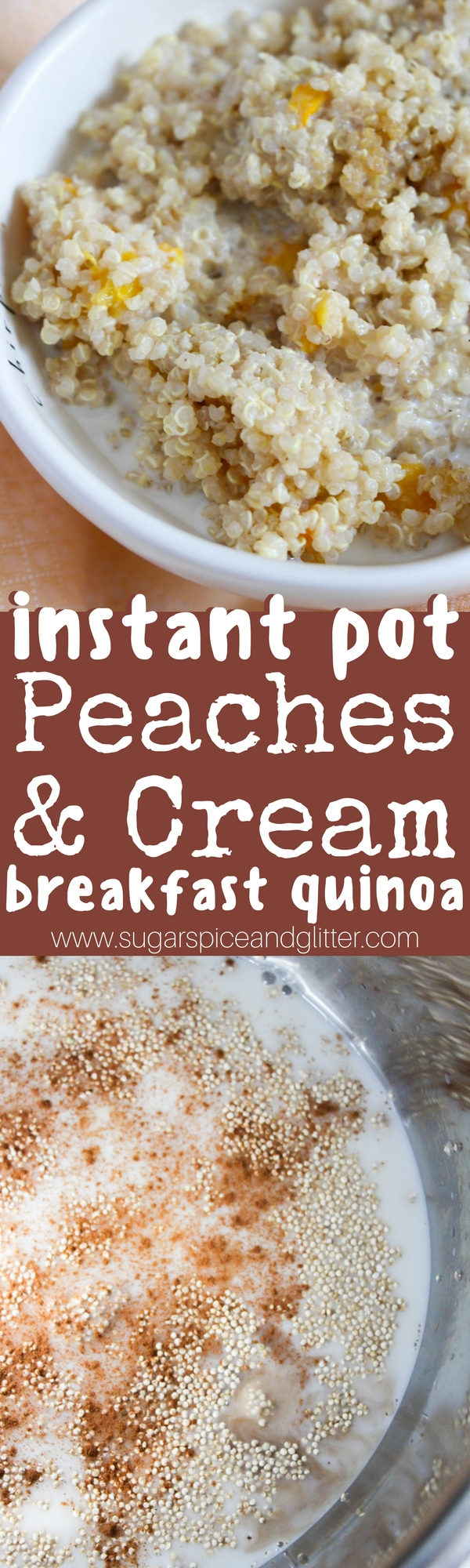 How to make breakfast quinoa in the instant pot - a super simple recipe to start your day on the right track