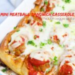Pull-Apart Mini Meatball Sandwiches with Hidden Veggie Sauce (with Video)