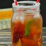 Peach Mint Iced Tea