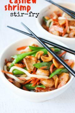 Shrimp Cashew Stir Fry
