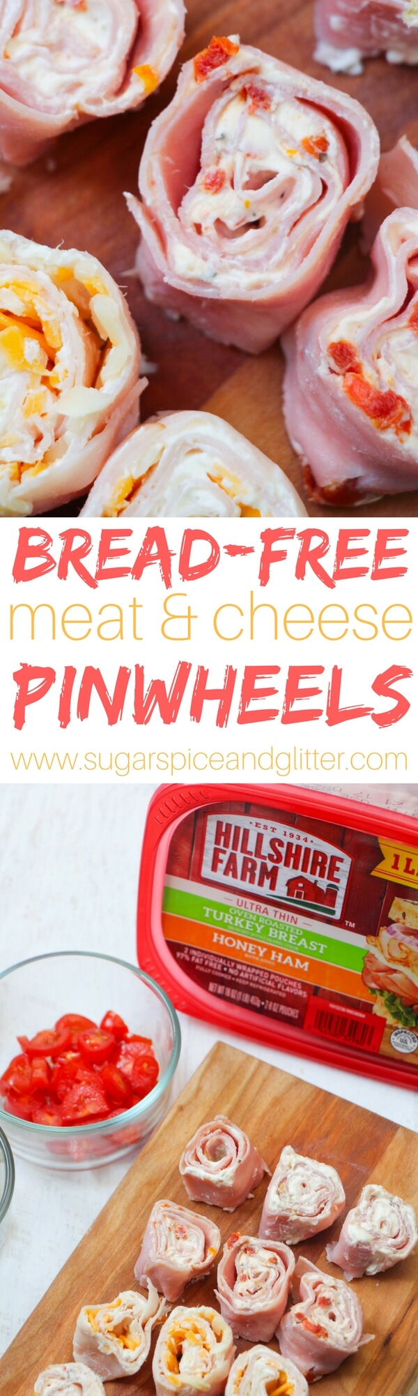A fun lunch box idea for kids - these bread-free pinwheel meatwiches are a delicious keto snack