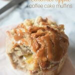 Caramel Apple Coffee Cake Muffins