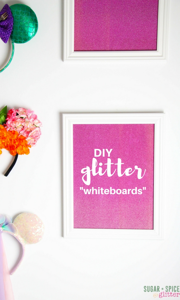 DIY Glitter Boards