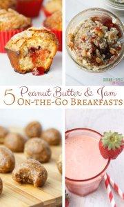 PB&J Breakfast Ideas