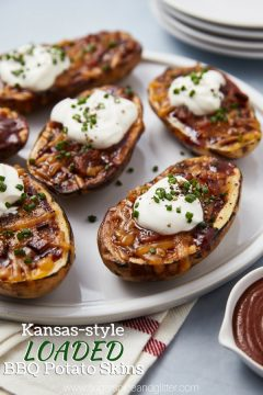 Southern-style Loaded Potato Skins