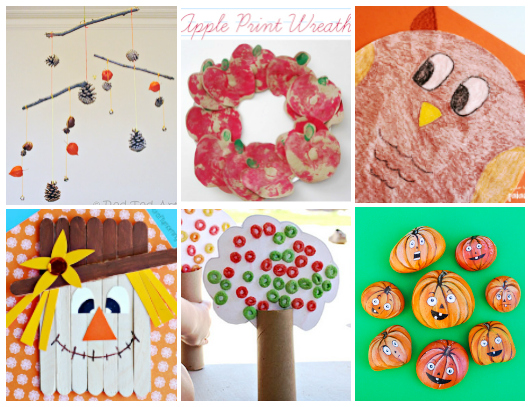 50 Fall Crafts For Kids Sugar Spice And Glitter