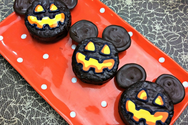 Disney Halloween dessert recipe using Ding Dongs