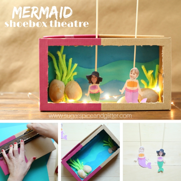 Mermaid Puppet craft idea