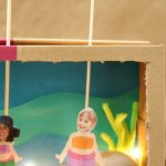 DIY Mermaid Shoebox Puppet Theatre