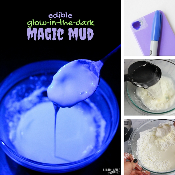 Edible glowing slime