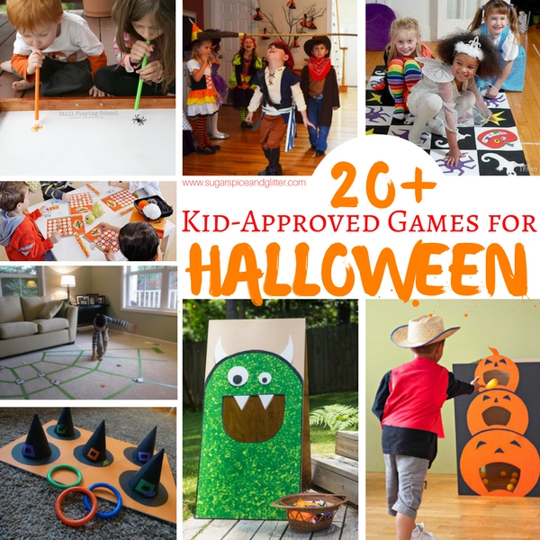 kid approved games for halloween