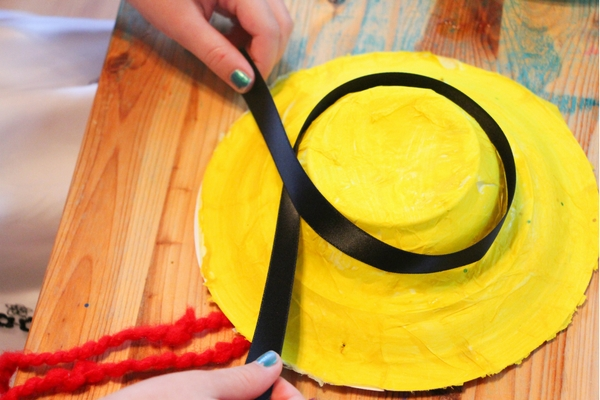 A cute DIY Madeline costume made by kids