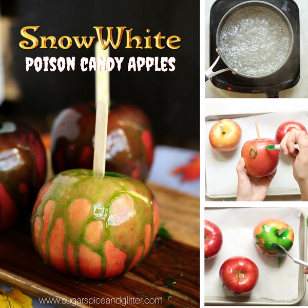 Snow White Poison Candy Apple (2 Ways) With Video ⋆ Sugar
