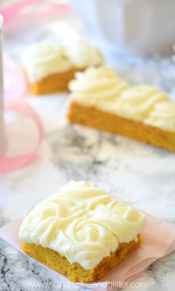 Spice Cake Mix Pumpkin Bars Recipe