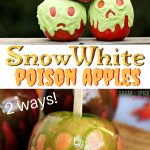 Snow White Poison Candy Apple (2 ways) with Video