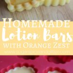 Orange Lotion Bar