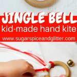 Jingle Bell Waldorf Kite for Christmas