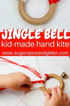 Jingle Bell Waldorf Kite for Christmas