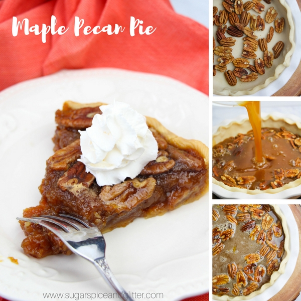How to make an easy pecan pie with no corn syrup