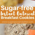 Healthy Oatmeal Cookies from Instant Oatmeal Mix