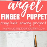 Angel Finger Puppets