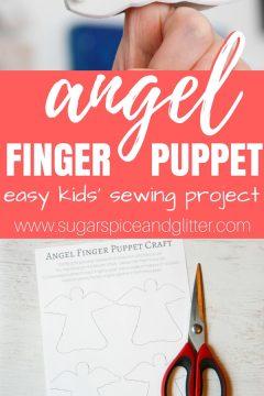 Angel Finger Puppets