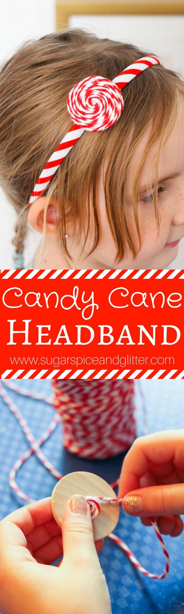 Peppermint Swirl Headband