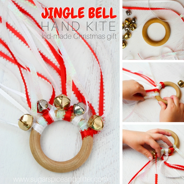Jingle Bell Waldorf hand kite
