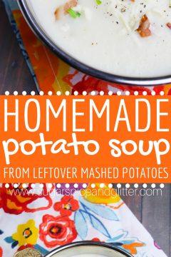 Easy Homemade Potato Soup
