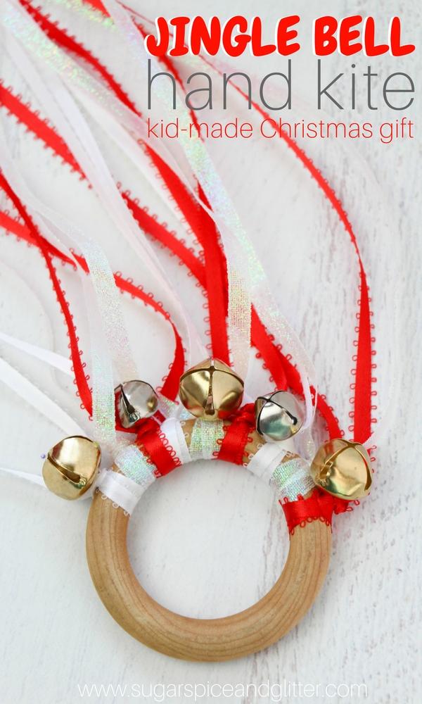 Jingle Bell Waldorf Kite For Christmas Sugar Spice And Glitter