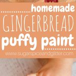 Gingerbread Puffy Paint (with Video)