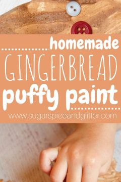 Gingerbread Puffy Paint